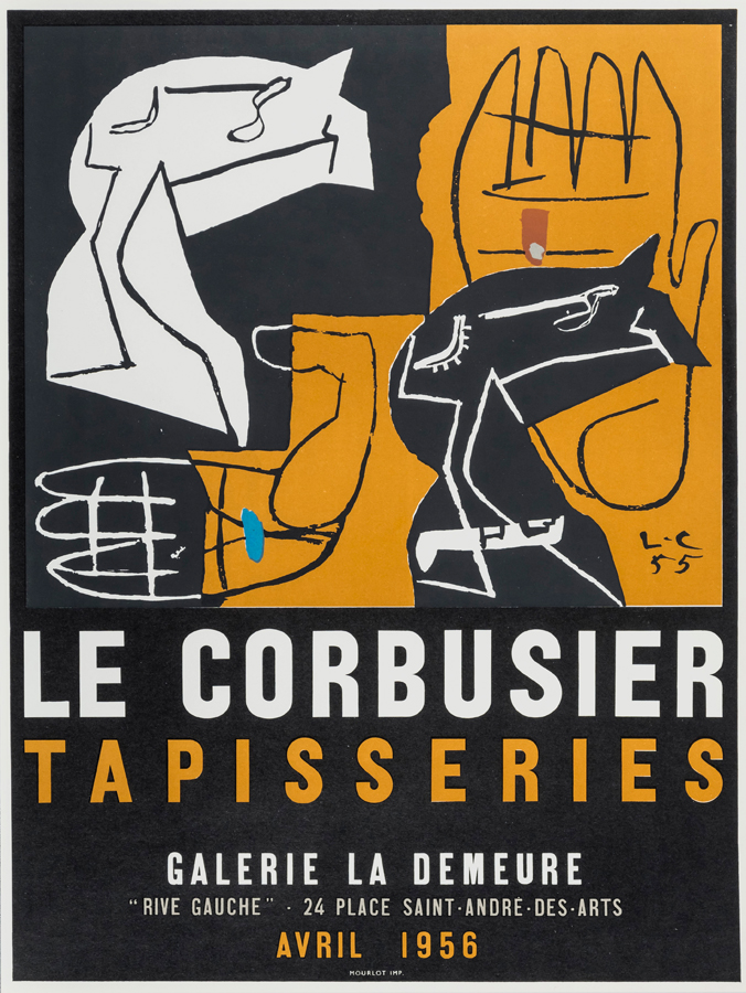 Poster Tapisseries, 1956
