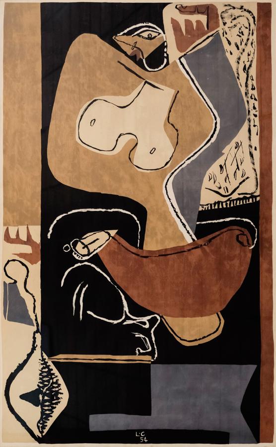 Femme à la main levée, 1st Ed., 1963