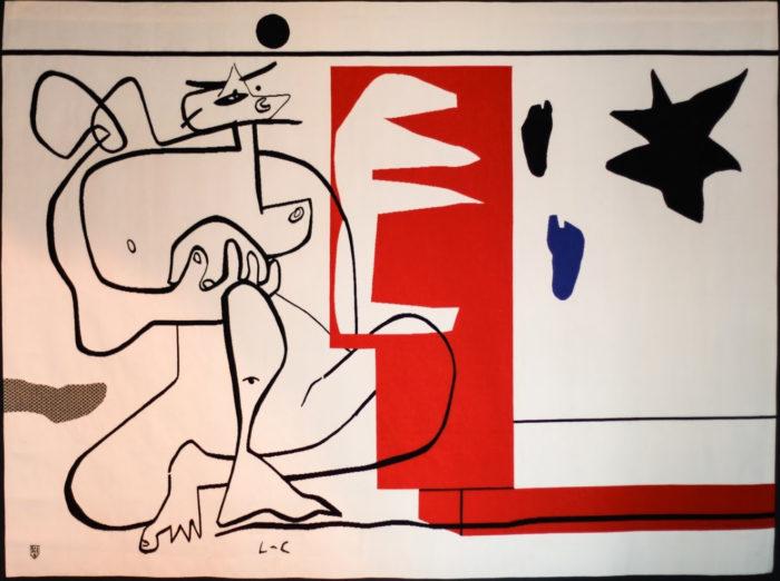 Bonjour Calder, Le Corbusier