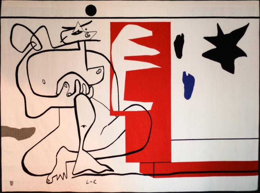 bonjour calder tapisserie 1958 87 verkauft le corbusier der k nstler. Black Bedroom Furniture Sets. Home Design Ideas