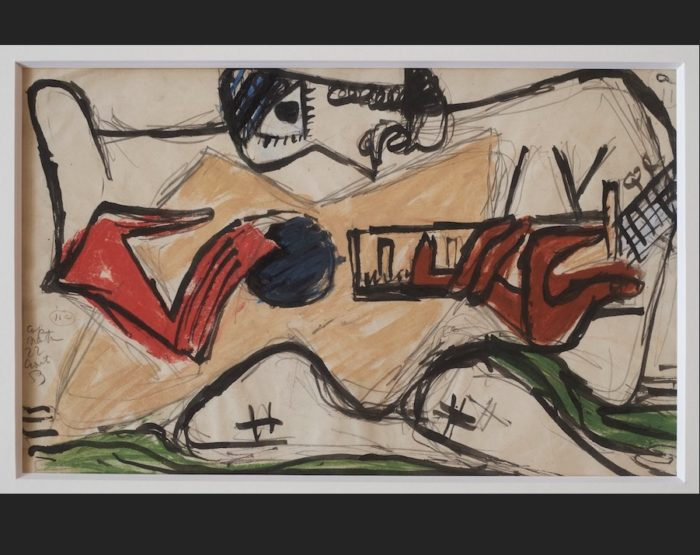 Le Corbusier - Arbalète, 1953 - art-LC - small