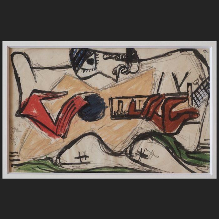 Le Corbusier   Arbalète   art-LC