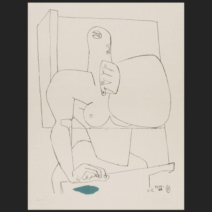 Le Corbusier | Athlète 7 | art-LC