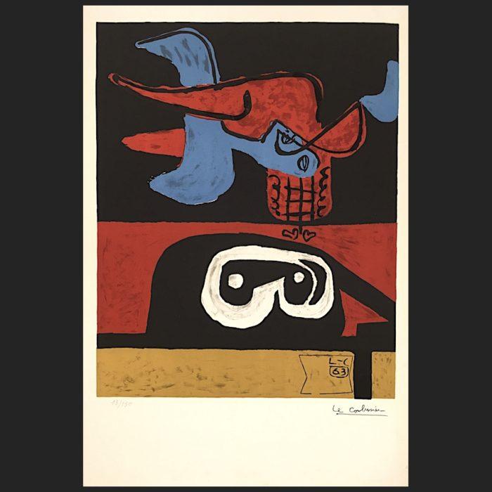 Le Corbusier | Autrement que sur terre 1. Ed. numbered| art-LC