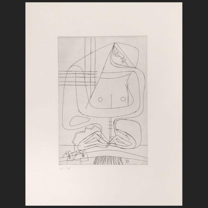 Le Corbusier | Cinq femmes No. 2 | art-LC