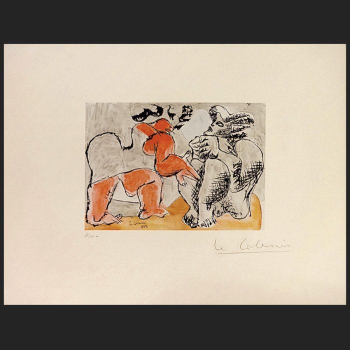 Le Corbusier | Deux grosses femmes | art-LC