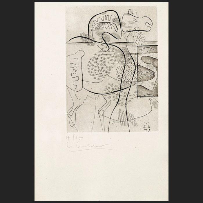 Le Corbusier | Dinosaure | art-LC