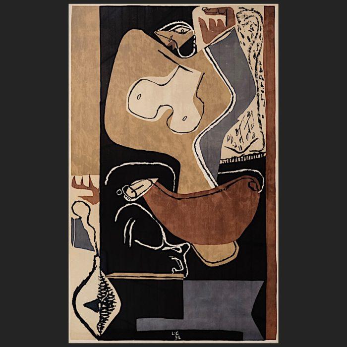 Le Corbusier | Femme à la main levée 1. Ed. | art-LC