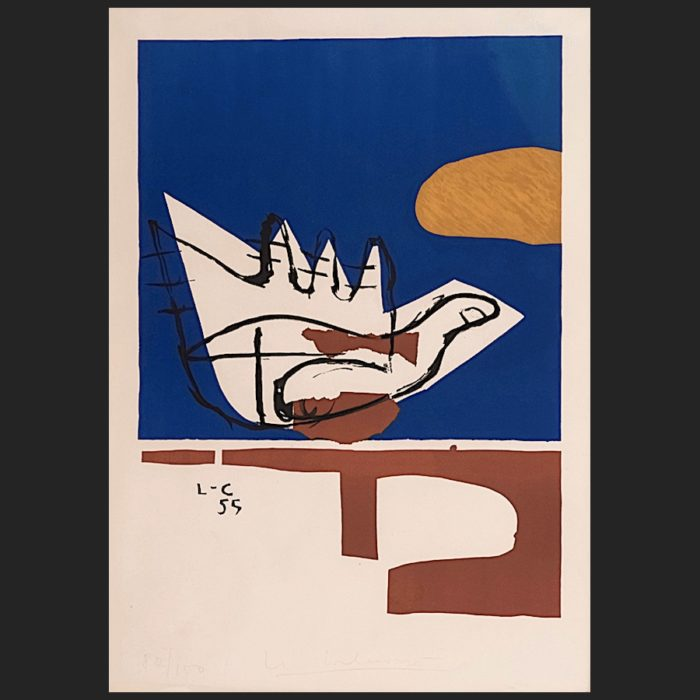Le Corbusier | La main ouverte 1955 | art-LC