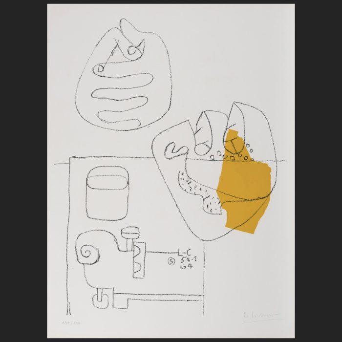 Le Corbusier | Mains croisées | art-LC