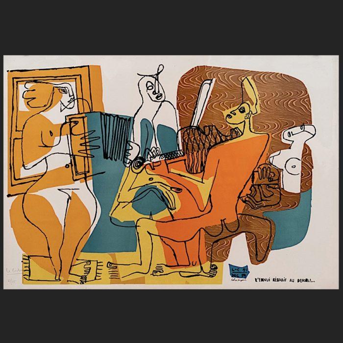 Le Corbusier | Musiciennes | art-LC