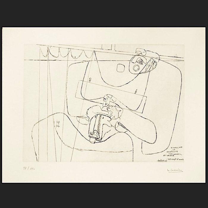 Le Corbusier | Naissance du Minotaure 1965 | art-LC