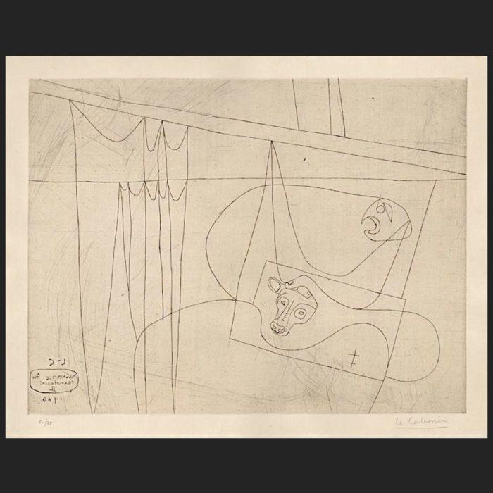 Le Corbusier | Naissance du Minotaure II | art-LC