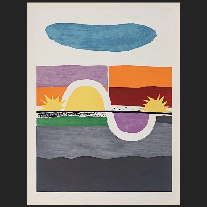 Le Corbusier | Poème de l'angle droit No. 1 unsigned | art-LC