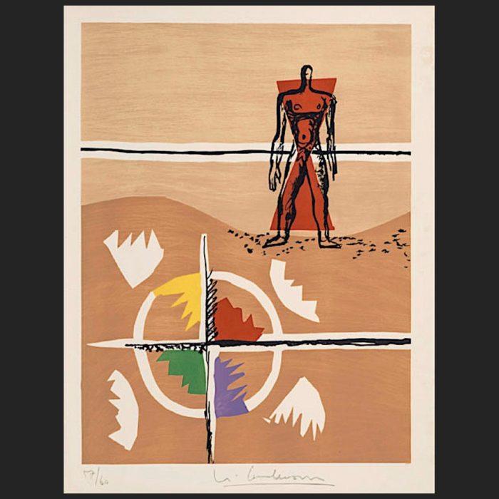 Le Corbusier | Poème de l'angle droit No. 3 | art-LC
