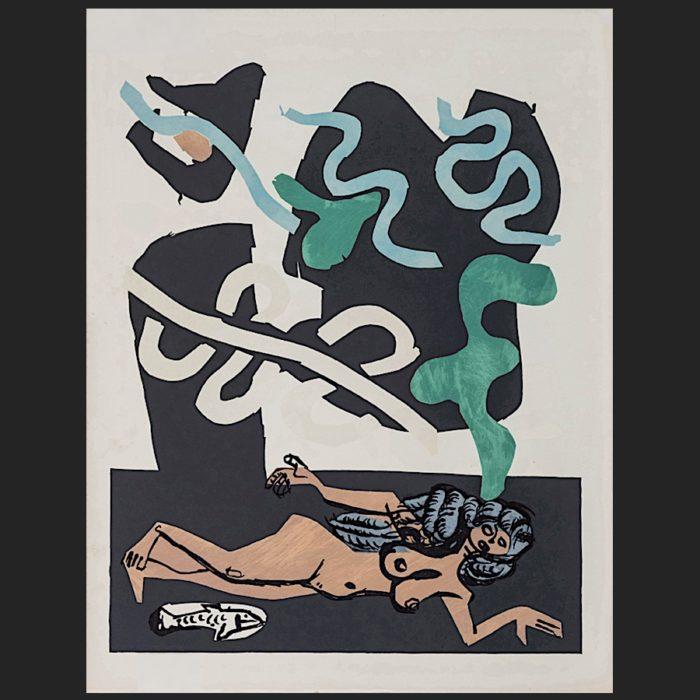 Le Corbusier | Poème de l'angle droit No. 4 unsigned | art-LC