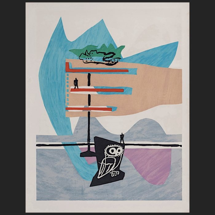 Le Corbusier | Poème de l'angle droit No. 7 unsigned | art-LC