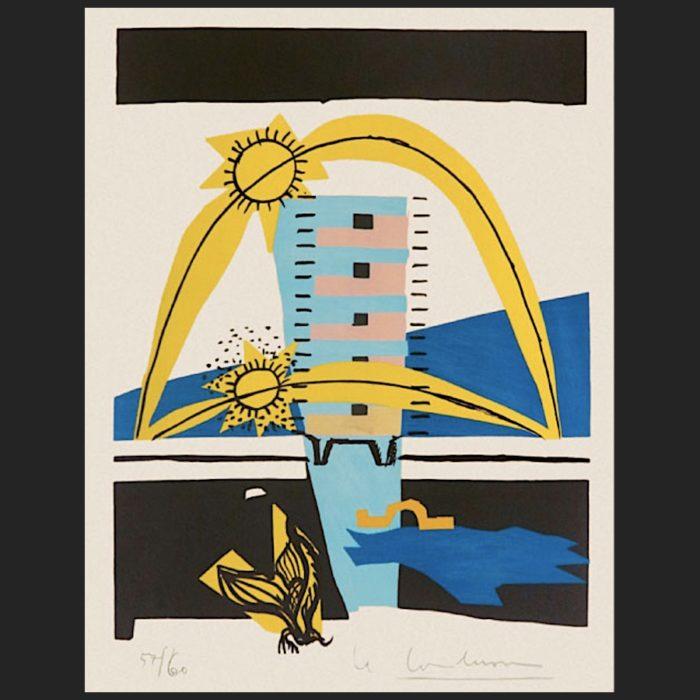 Le Corbusier | Poème de l'angle droit No. 8 | art-LC