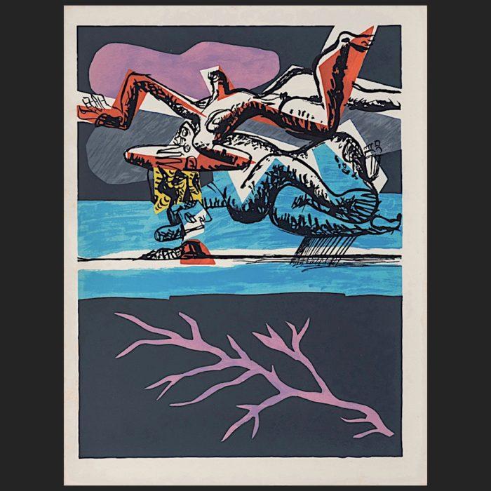 Le Corbusier | Poème de l'angle droit No. 2 unsigned | art-LC