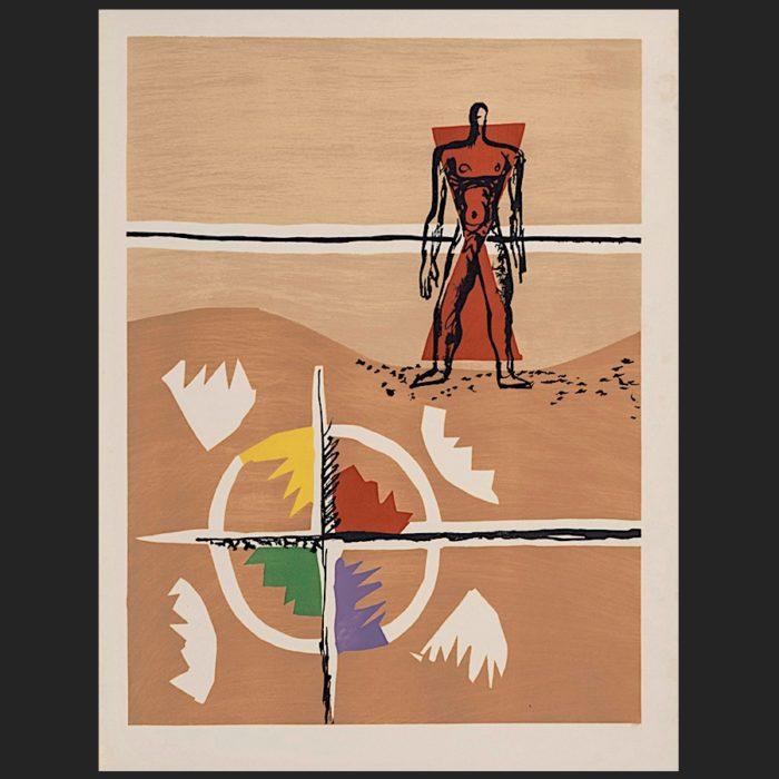 Le Corbusier | Poème de l'angle droit No. 3 unsigned | art-LC