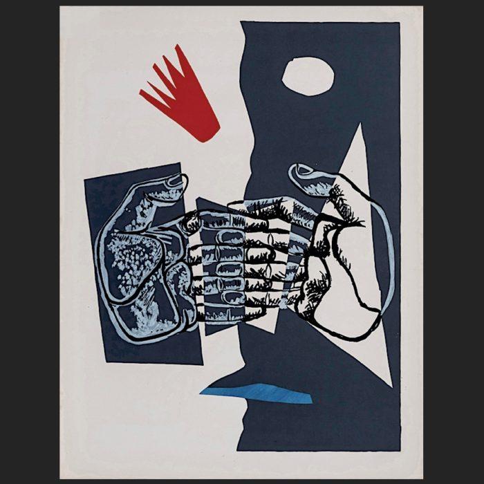 Le Corbusier | Poème de l'angle droit No. 5 unsigned | art-LC