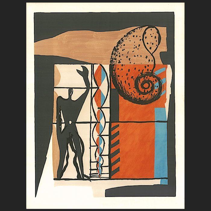 Le Corbusier | Poème de l'angle droit No. 6 unsigned | art-LC