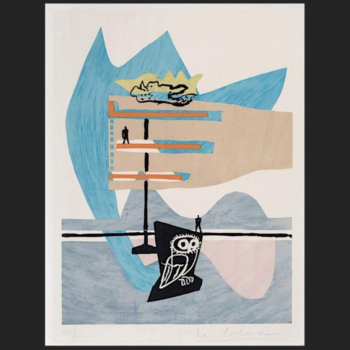 Le Corbusier | Poème de l'angle droit No. 7 | art-LC
