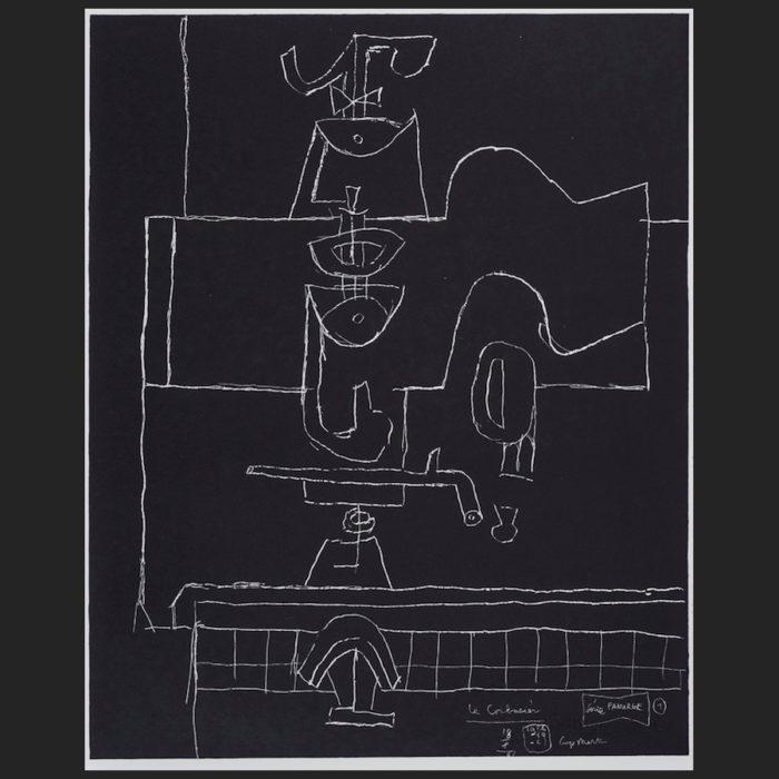 Le Corbusier | Portfolio Panurge sheet no. 1 | art-LC