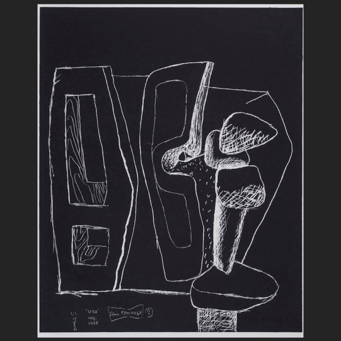 Le Corbusier | Portfolio Panurge sheet no. 2 | art-LC