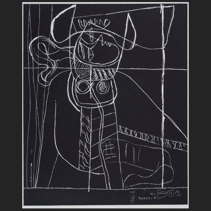 Le Corbusier | Portfolio Panurge sheet no. 3 | art-LC