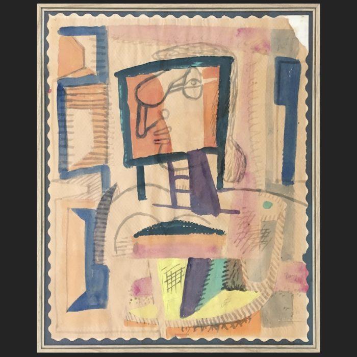 Le Corbusier | Portrait de femme de profil | art-LC