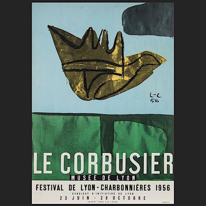 Le Corbusier | Poster Lyon 1956 | art-LC