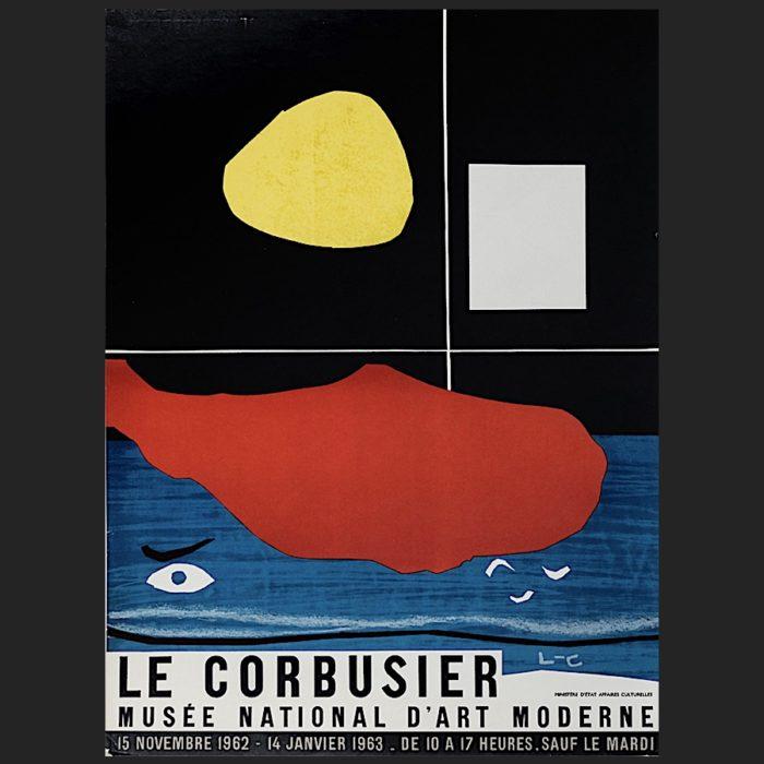 Le Corbusier | Poster Musée National 1962 | art-LC