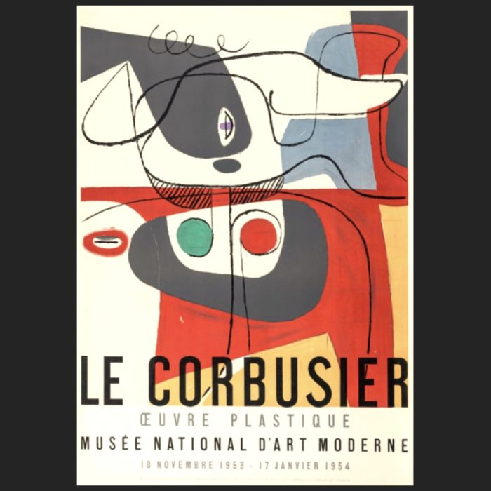 Le Corbusier | Poster Musee National 1953 | art-LC
