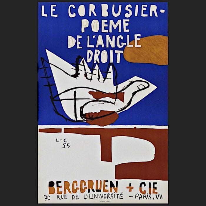 Le Corbusier | Poster Poème 1955 | art-LC
