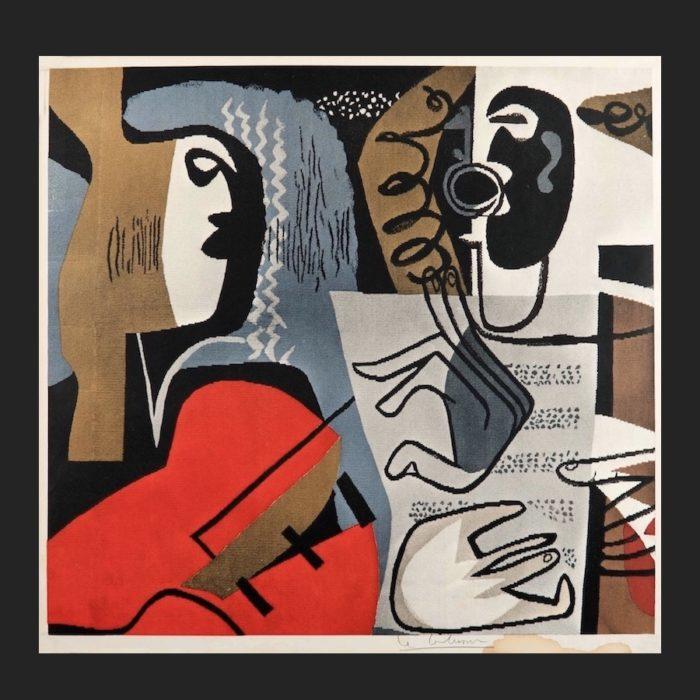 Le Corbusier | Poster Poème 1957 trimmed | art-LC