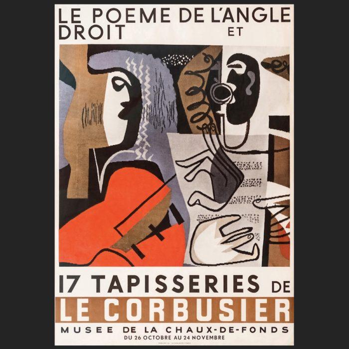 Le Corbusier | Poster Poème 1957 | art-LC