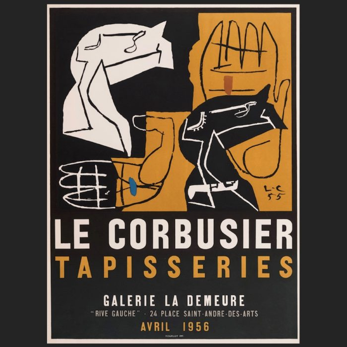 Le Corbusier | Poster Tapisseries 1956 | art-LC