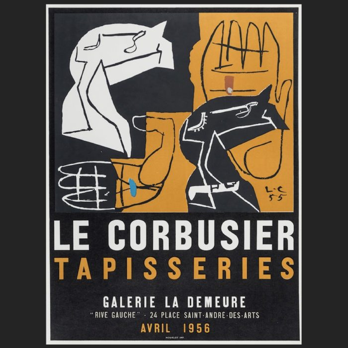 Le Corbusier | Poster Tapisseries 1956 trial | art-LC