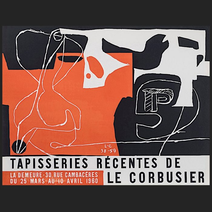 Le Corbusier | Poster Tapisseries 1960 | art-LC
