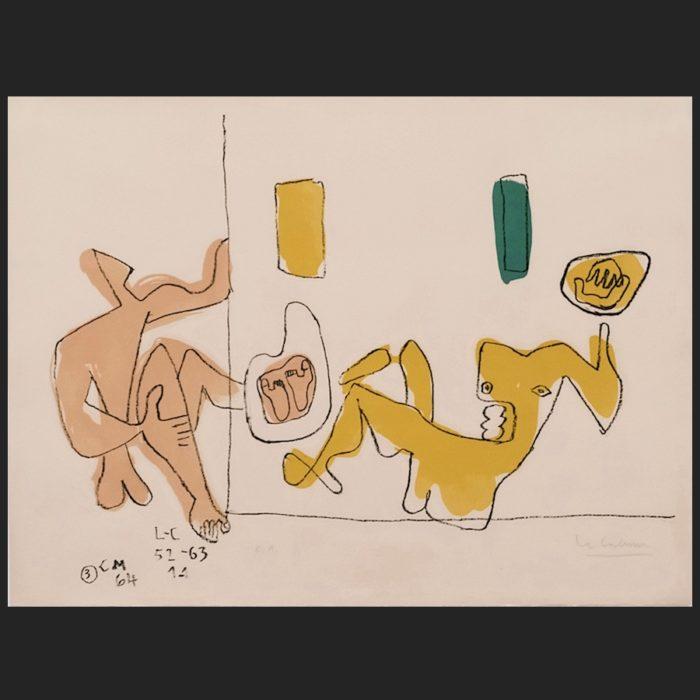Le Corbusier | Se touchent les pieds | art-LC