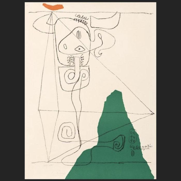 Le Corbusier | Taureau 1 | art-LC