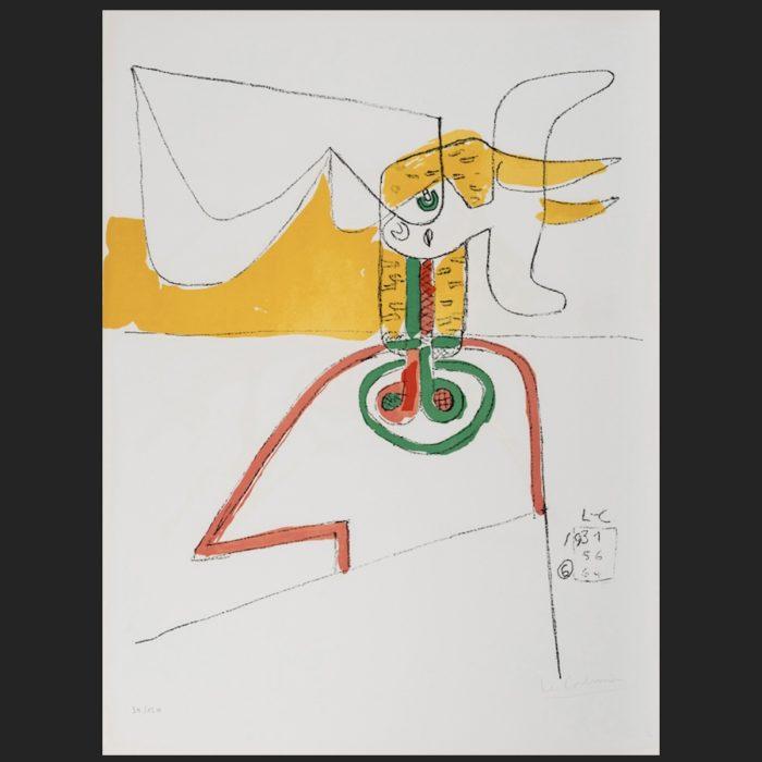 Le Corbusier | Taureau 6 | art-LC