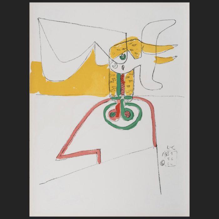 Le Corbusier | Taureau 6 unsigned | art-LC