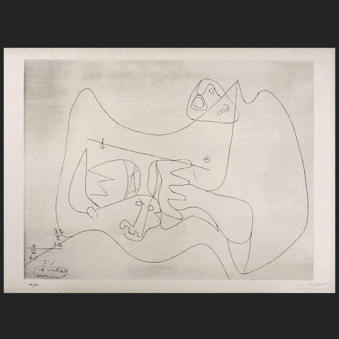 Le Corbusier | Naissance du Minotaure I | art-LC