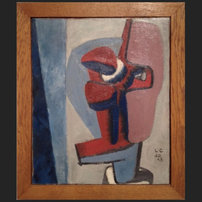 Le Corbusier | Oil painting Ubu III | art-LC