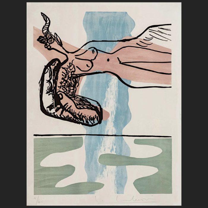 Le Corbusier | Poème de l'angle droit No. 13 | art-LC