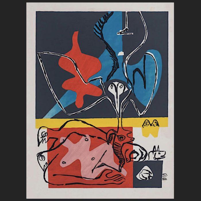 Le Corbusier | Poème de l'angle droit No. 14 unsigned | art-LC
