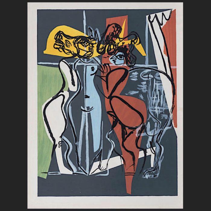 Le Corbusier | Poème de l'angle droit No. 15 unsigned | art-LC
