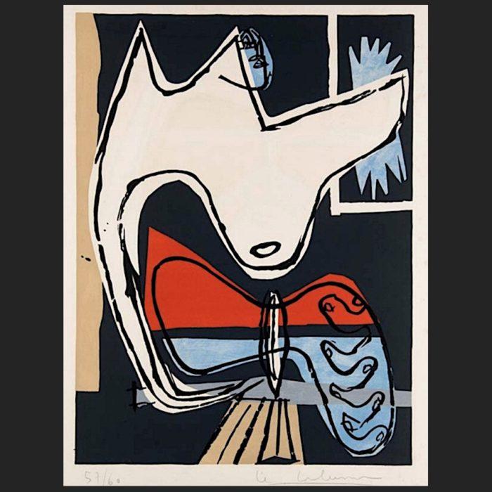 Le Corbusier | Poème de l'angle droit No. 16 | art-LC